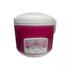 Mini Portable Rice Cooker + Steamer 2Ltrs red