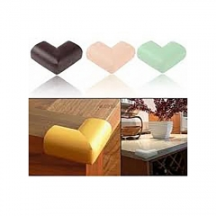8Pcs Baby Child Safety Table Edge Protector Bumper Corner Protection Cushion Guard brown one size