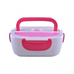 Electric Lunch Box - Pink & White pink and white