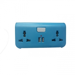 USB Way Socket Extension Cable - Blue blue