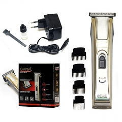 GEMEI GM-657 Professional Hair Clipper Rechargeable Shaver bronze one size