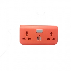 USB Way Socket Extension Cable pink