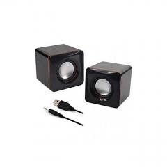 Multimedia Speakers - 2.0 USB - Black black good music