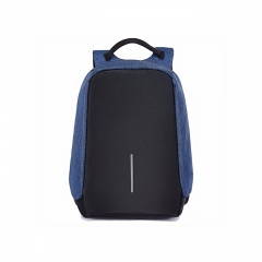 Antitheft Backpack - Blue black and blue