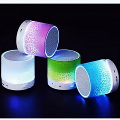 One Piece Mini Wireless Bluetooth Speaker LED Lighting multicolour one size