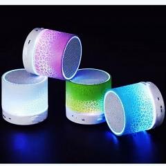 One Piece Mini Wireless Bluetooth Speaker LED Lighting multicolour one size