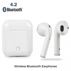 Twins Wireless Bluetooth In-ear Earphone Stereo Headset For Android And IPhone Airpods White white