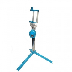 Selfie Booth Bluetooth Selfie Stick With Tripod Stand - Blue blue one size