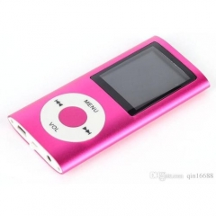 4th 1.8'' Screen MP4 Video Radio Music Movie Player SD/TF Card SL - Pink pink