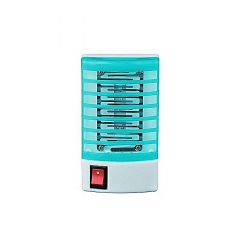 Mosquito Fly Bug Insect Zapper LED Electric Killer Night Lamp - Blue blue