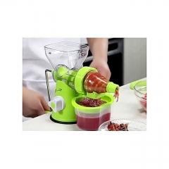 Blender- multi function manual Juicer- fruits and vegetable - Green green