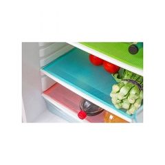 4 Piece Multifunction Refrigerator Mat Fridge Anti-fouling Anti Frost Waterproof Pad assorted colours