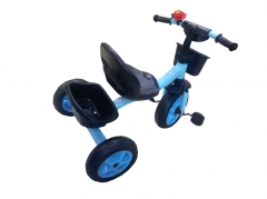 Tri-cycle Kids Bike - Blue blue normal