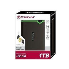 External Hard Disk Drive USB 3.0 - 1TB - Grey black 1TB
