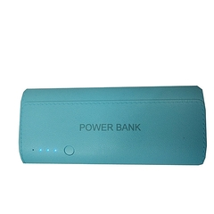 20000mAh powerbank With LED light - White And Blue blue 20000mah