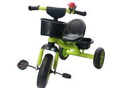 3 Wheel Kids Ride On Tricycle Bike Children Toddler Trike - Green green