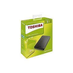 Toshiba 1TB Canvio Basics External Hard Drive - Black black