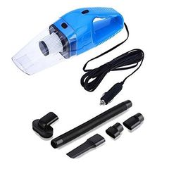 Handheld Car Vacuum Cleaner 120W, 12V Portable Mini Wet/Dry Auto Vehicle Vacuum Dust Buster