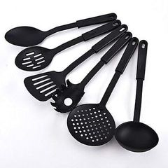 Non-stick Spoons - Set of 6 black