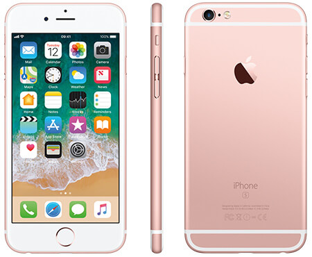 iPhone 6, 16GB + 1GB RAM, (Single SIM) 4G, Gold gold