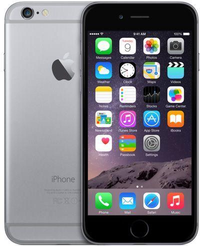 iPhone 6 - 64GB - 1GB RAM - 8MP - Single SIM - 4G LTE - Grey grey