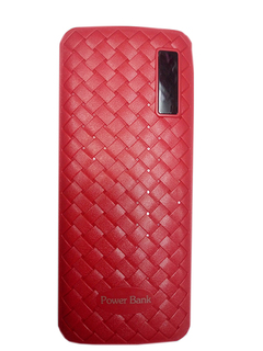 20000mAh powerbank With Powerful LED Light - Red Red 20000mah