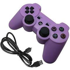 PS3/PC Pad Dual Shock 3 - Wireless Controller Premium-Purple Purple One Size