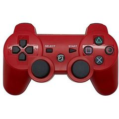 PS3/PC Pad Dual Shock 3 - Wireless Controller Premium- Red Red one size