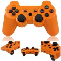 PS3/PC Pad Dual Shock 3 -Wireless Controller Premium- Orange Orange one size