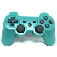 PS3/PC Pad Dual Shock 3 - Wireless Controller Premium- Light Blue Light Blue one size