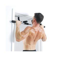 Iron Gym Premium Bar(Door Gym) - Black - one size black
