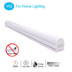 Energy Saving 100-240Vac LED T8 Fluorescent Lamp white light 6000K 1200mm 16W