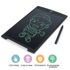 Electronic LCD 8.5 Inch Kids Drawing Board Black