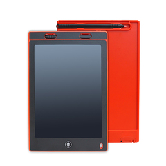 8.5 Inch red electronic drawing board Red(buy 10 get 1 free)