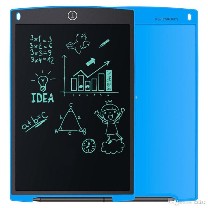 "8.5"" LCD Writing Tablet,Electronic Writing &Drawing Board,Handwriting Paper Drawing Tablet Blue(buy 10 get 1 free)"