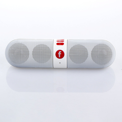 phones Portable Capsule Wireless Stereo hifi system bluetooth speakers bluetooth speaker white one size