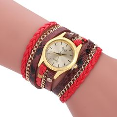 watches Sloggi relogio Winding Dress women Bracelet watches ladies watch Watches red one size