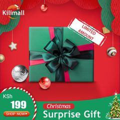 2019 Christmas Mystery box,Chirstmas Gifts for familiy black one size