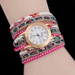 new watches Sloggi relogio Winding Dress women Bracelet watches ladies watches women rose red one size