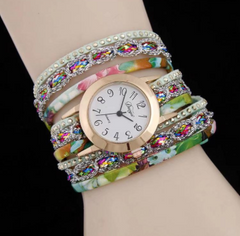 new watches Sloggi relogio Winding Dress women Bracelet watches ladies watches women green one size