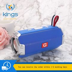 G Portable Wireless Bluetooth Speaker 5.0 Waterproof Bass Disco Phones Bluetooth Accessories blue one size