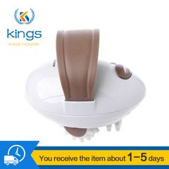 Electronic Full Body Slimming Massager Roller For Weight Loss Fat Burning Women Men Electronic Care white