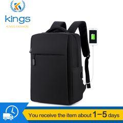 Laptop Usb Backpack School&Bussiness Bags Anti Theft Men For Travel  Leisure Bagpack Rucksacks Black 16inch