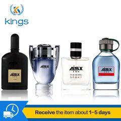 4PCS Men Perfumes of Different Fragrance Classic Long Lasting Natural Eau De Parfum Fragrances Deodorant 100ML Black Friday mixed color