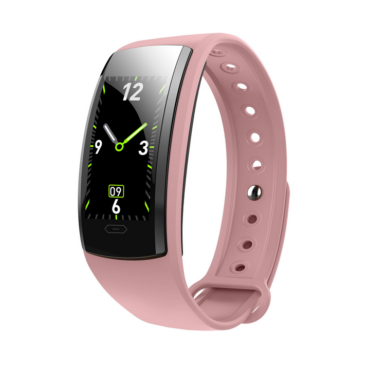 Waterproof Smart Watch Bluetooth Sprot  Watches for man women Swming Running with Pedometer Pink normal