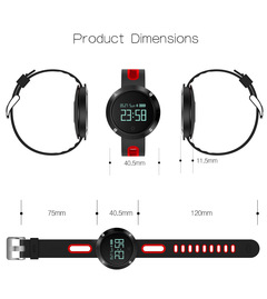 Smart Watch,Android iphone Phone for  Men Women Sport  with Gift Box(Bluetooth) Black normal