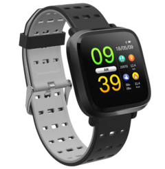 Smart Watch,Android Phone Camera Men Women Sport  with Gift Box(Bluetooth) gray normal