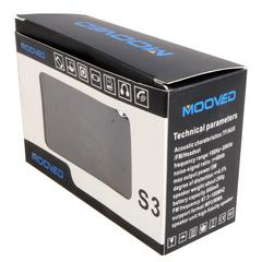 Mooved Cute Wireless Bluetooth Speaker Black 5W S3