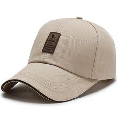 Men's Adjustable Baseball Cap Casual Leisure Hats Fashion Boy Snapback Hat Caps Khaki adjustable size