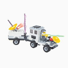 Toy car for Lunar Rover White One size